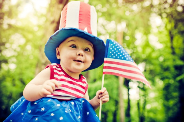 4th of July Baby Pictures