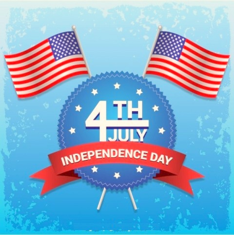 4th of July Cards For Facebook