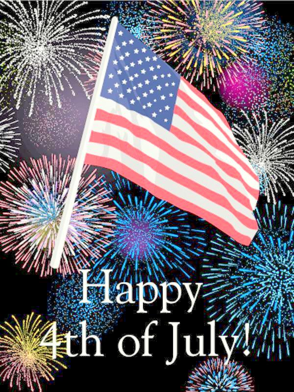 4th of July Cards Free