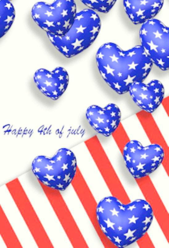 4th of July Cards Pinterest