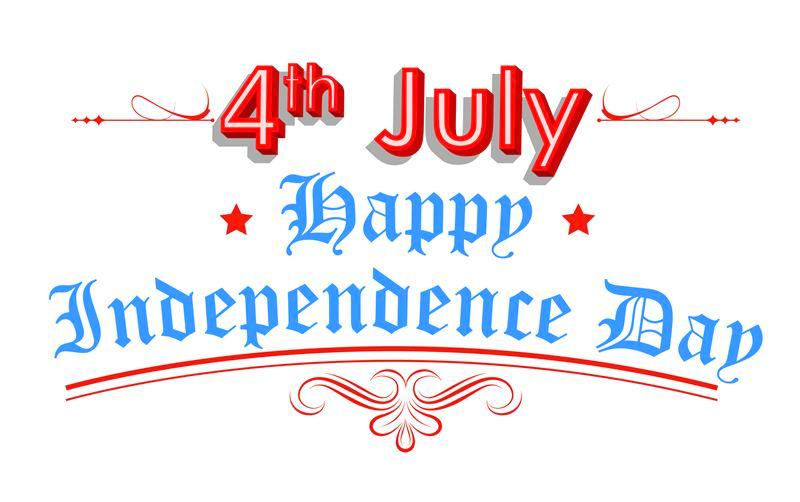 4th of July Clipart Animated