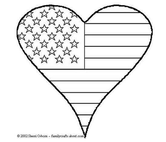 4th of July Coloring Pages for Kindergarten