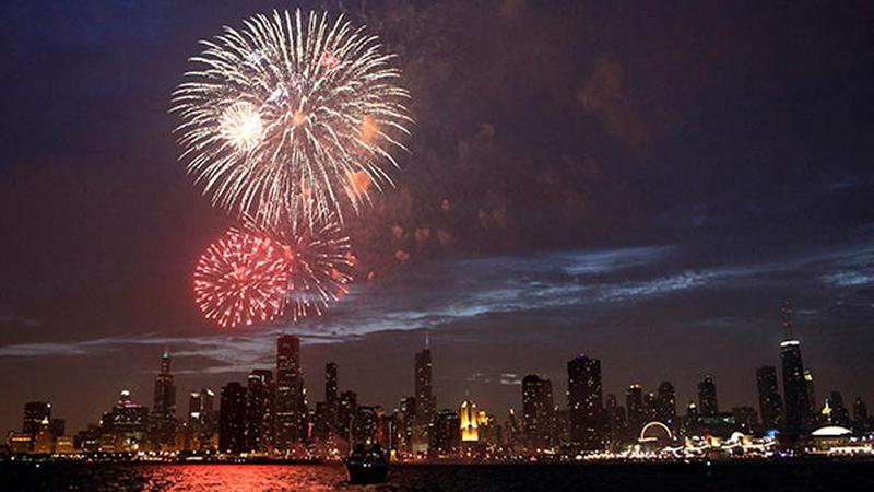 4th of July Fireworks Chicago