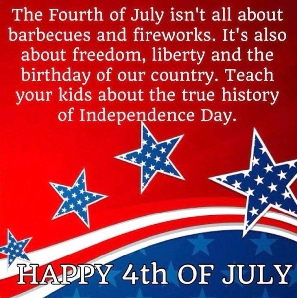 4th of July Greetings Quotes