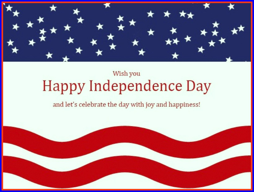 4th of July Greetings Sayings