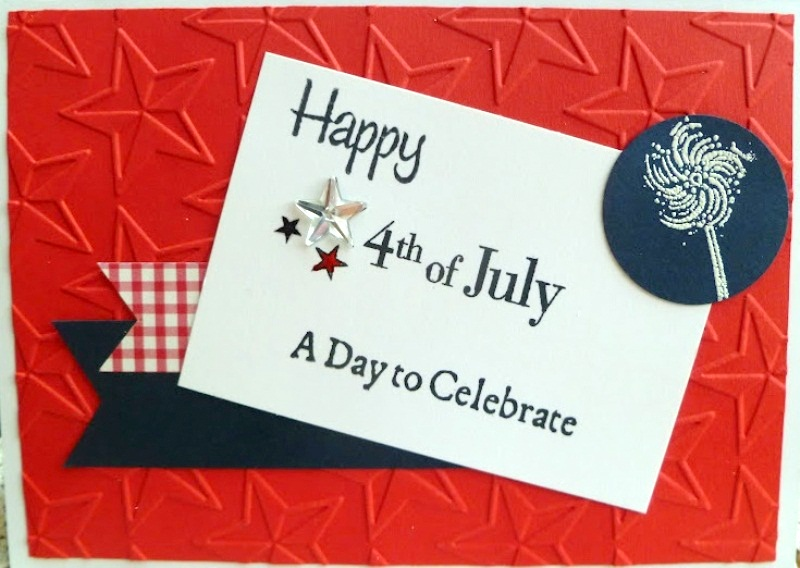 4th of July Handmade Greetings