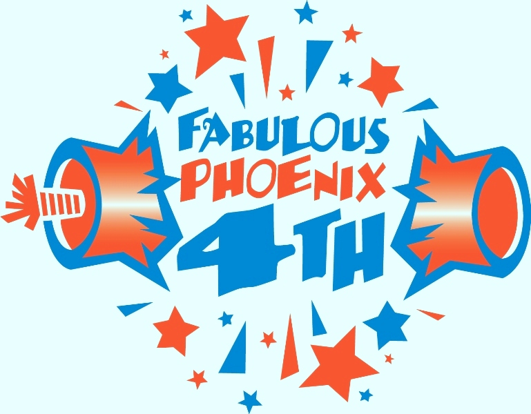 4th of July Logo Clipart
