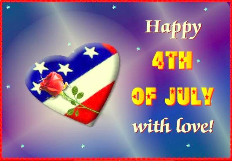 4th of July Love Greetings