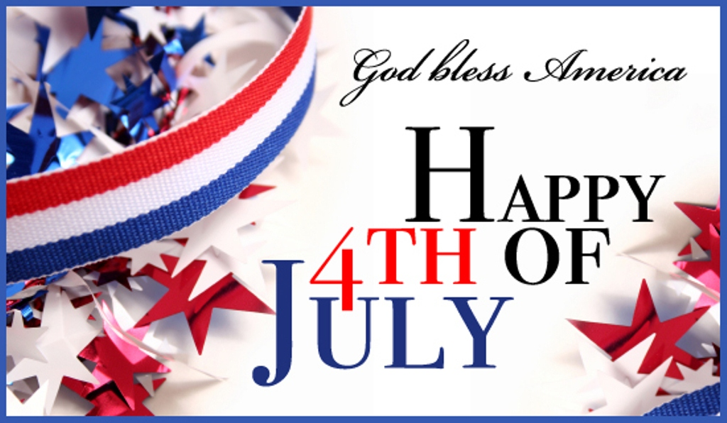 4th of July Wallpaper God Bless You America