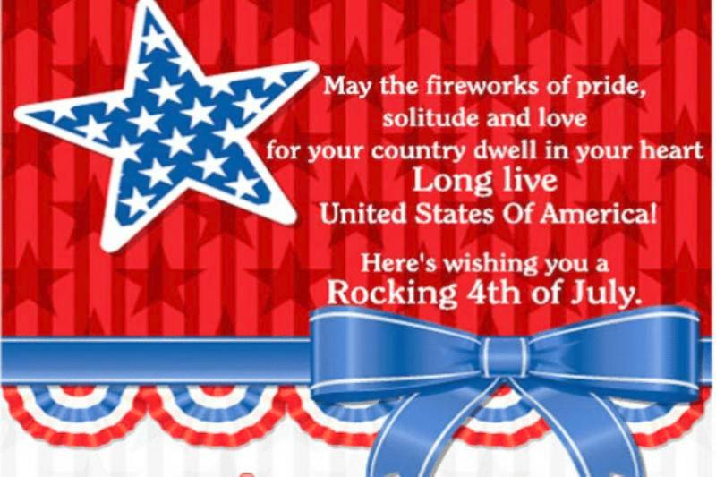 4th of July Wishes For Friends