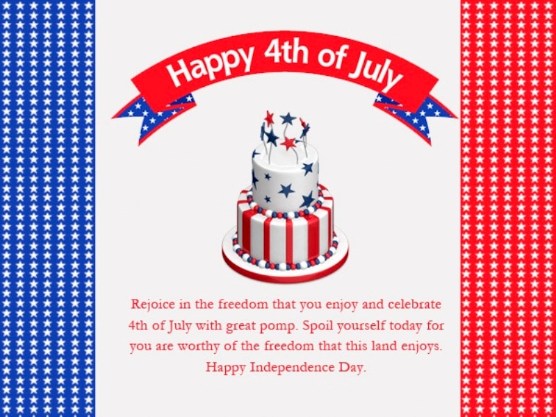 4th of July Wishes Greetings