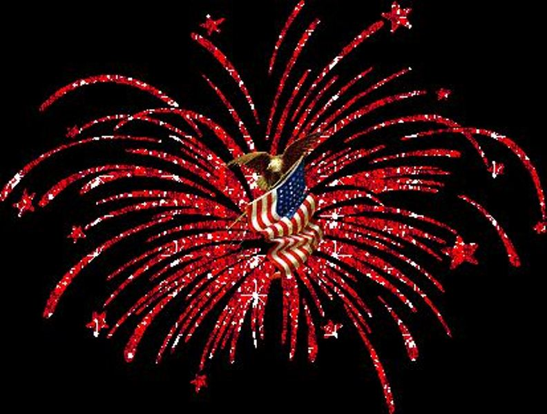 Animated Fourth of July Clip Art