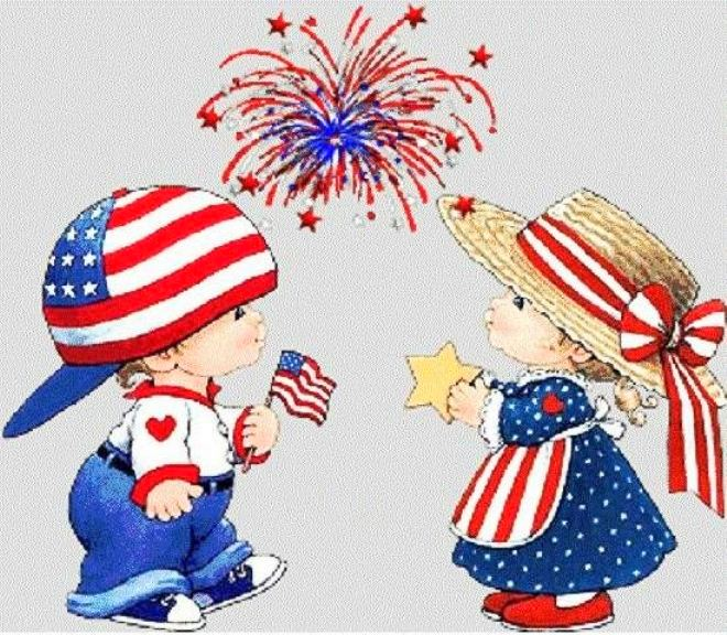 Cute 4th of July Clipart For Kids