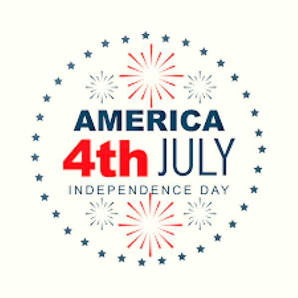 Cute Clipart 4th of July