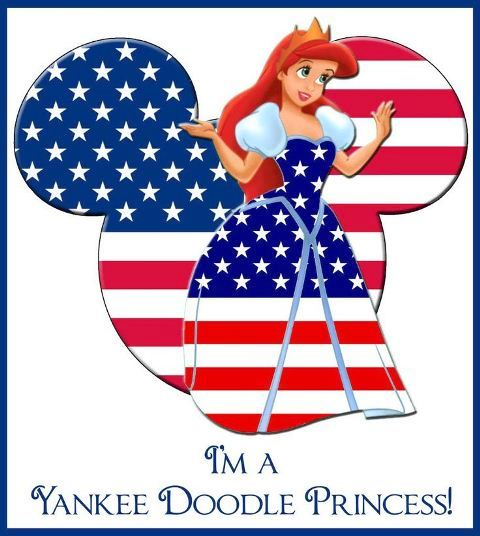 Disney 4th of July Clipart