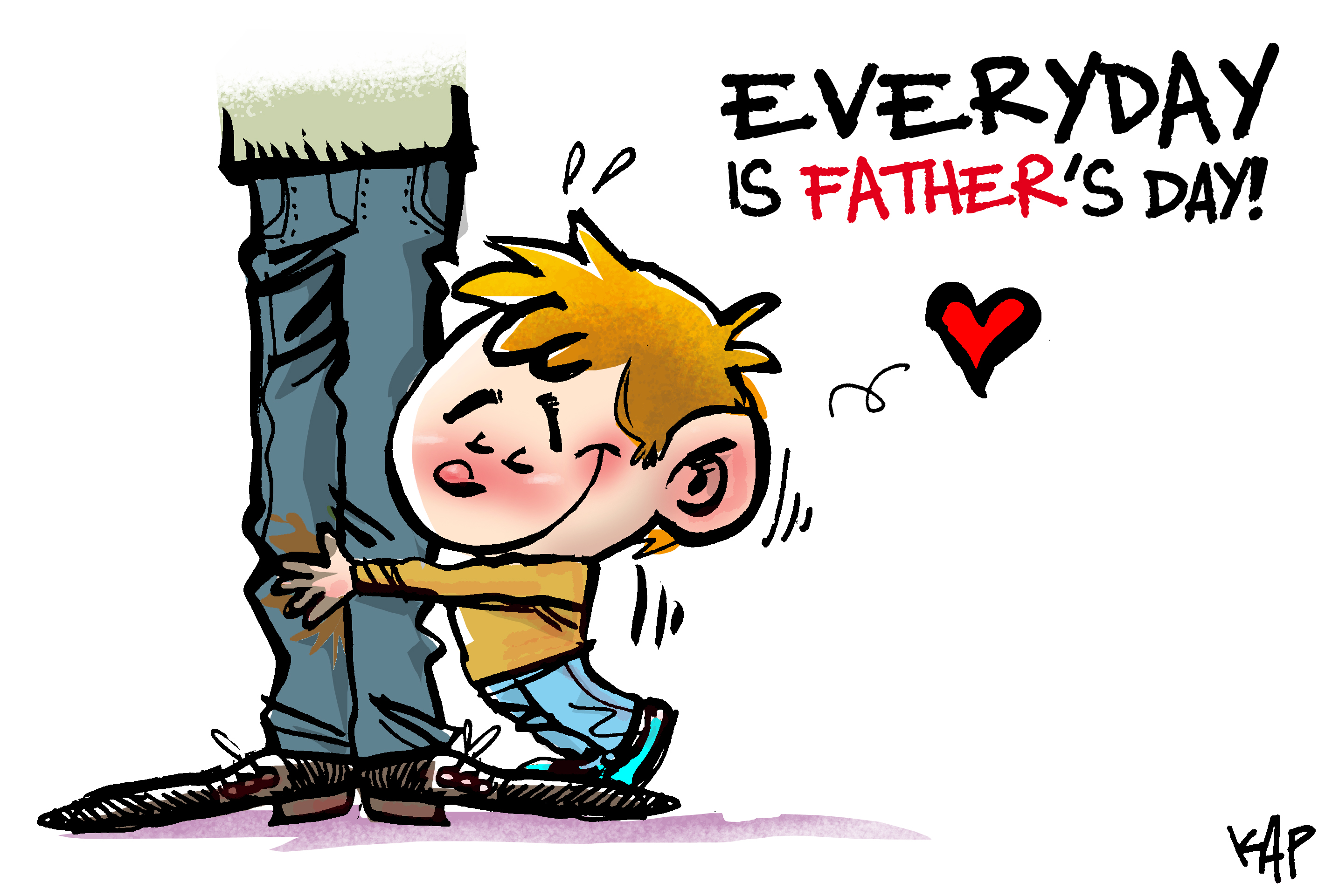 Fathers Day Clipart Cartoon