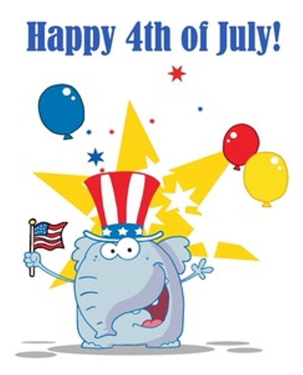 Fourth of July Animated Pics