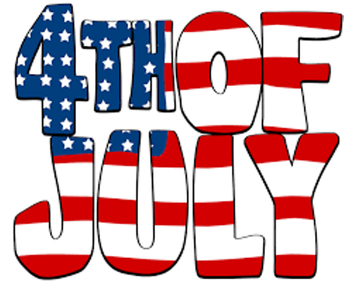 Fourth of July Clip Art Photos