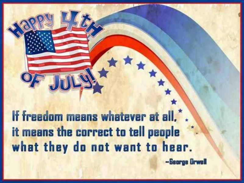 Fourth of July Greetings For Family