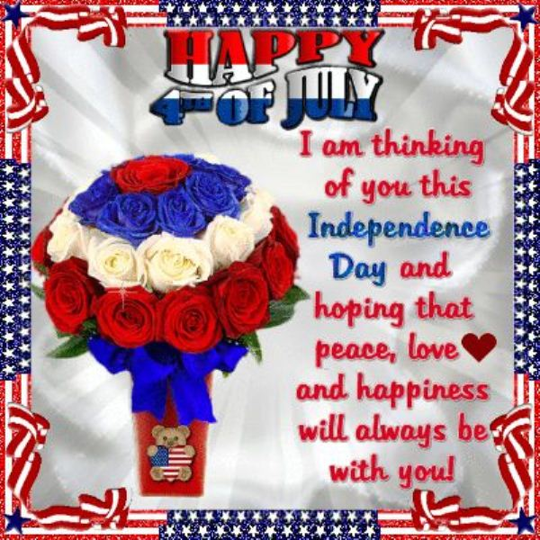 Fourth of July Greetings For Friends