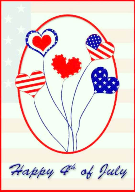 Free Printable 4th of July Cards