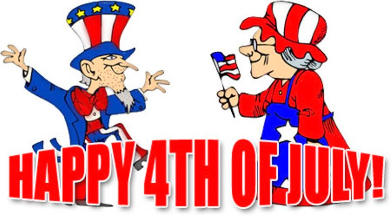 Funny 4th of July Clipart For Kids