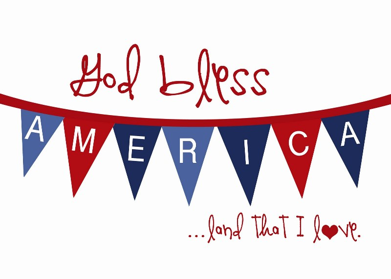 Good Bless America Fourth of July Pics