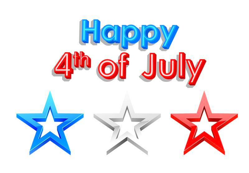 Happy 4th of July Clip Art Images