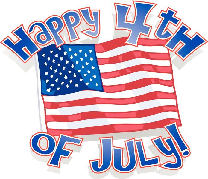 Happy 4th of July Clipart Free Images