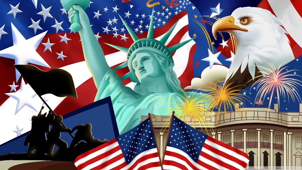 Happy 4th of July Hd Wallpaper