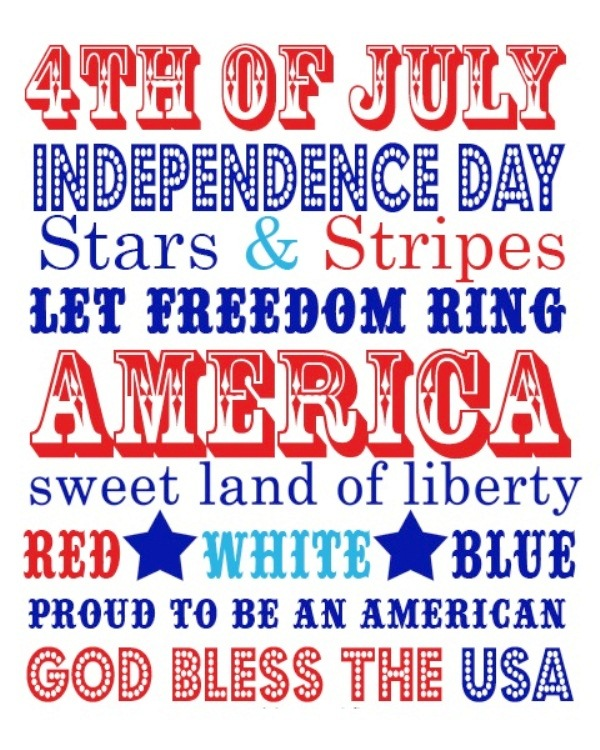 Happy 4th of July Messages Cards