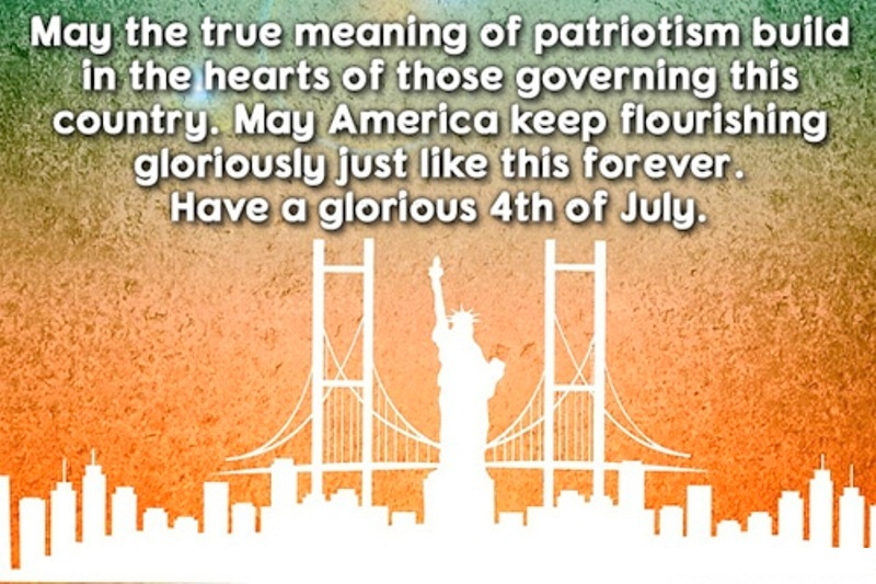 Happy 4th of July Wishes Sms