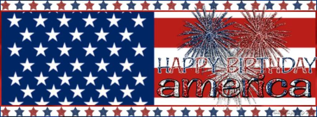 Happy Birthday America For Facebook Cover