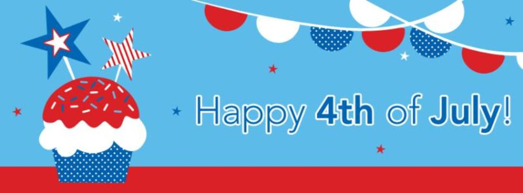 Happy Fourth of July Clipart For Facebook
