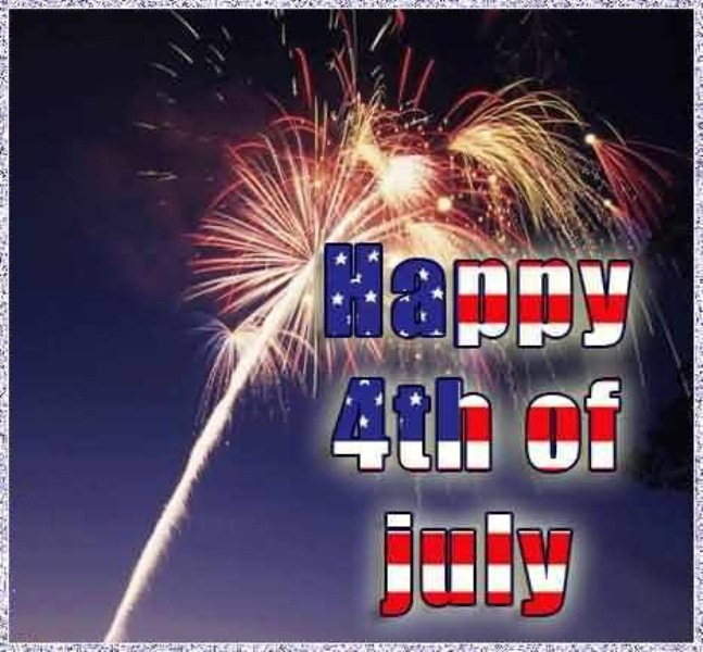 Happy Fourth of July Greetings Free