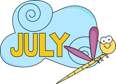 July Animated Clipart