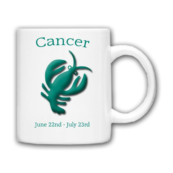 July Birth Sign Astrology Cup