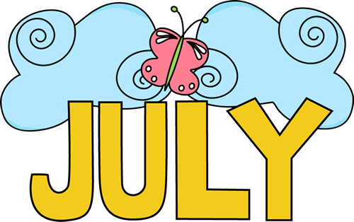 July Images Wishes Clipart