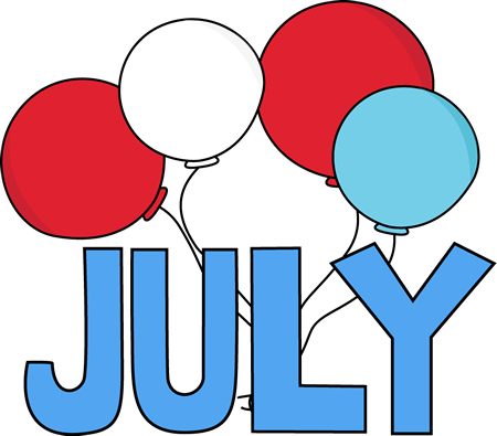 July Joy Full Clipart Free Download