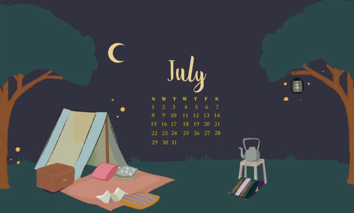 Nature July 2018 Calendar Wallpapers