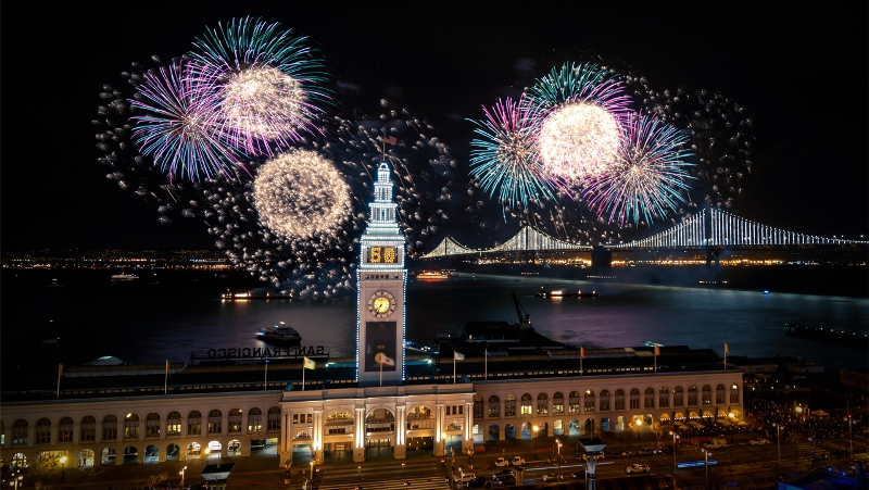 San Francisco 4th of July Fireworks 2018