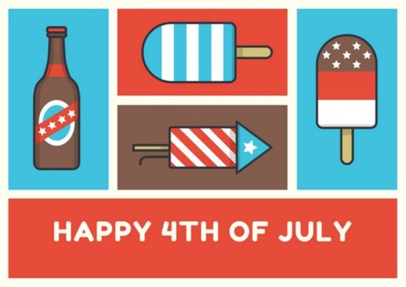 Vintage Fourth of July Cards