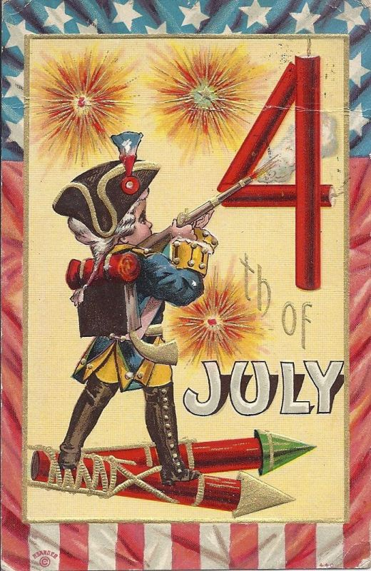 Vintage Fourth of July Clipart