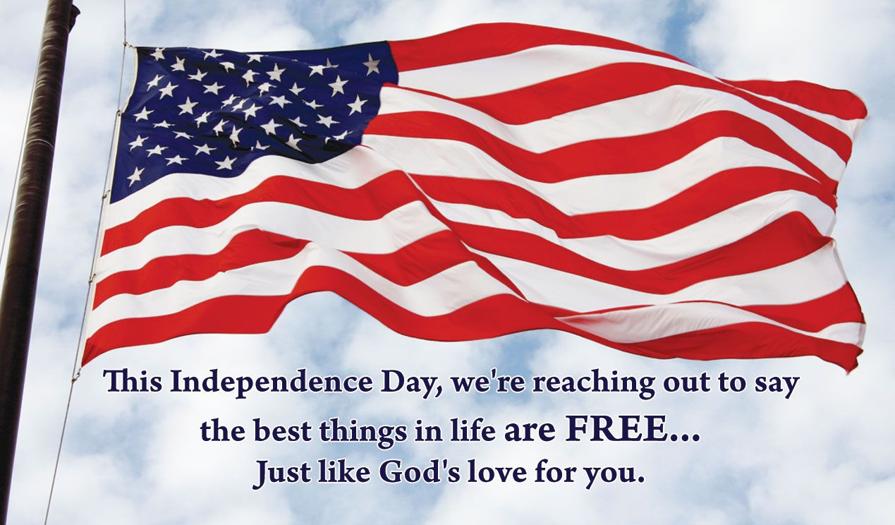 4th July Independence Day Greeting Cards
