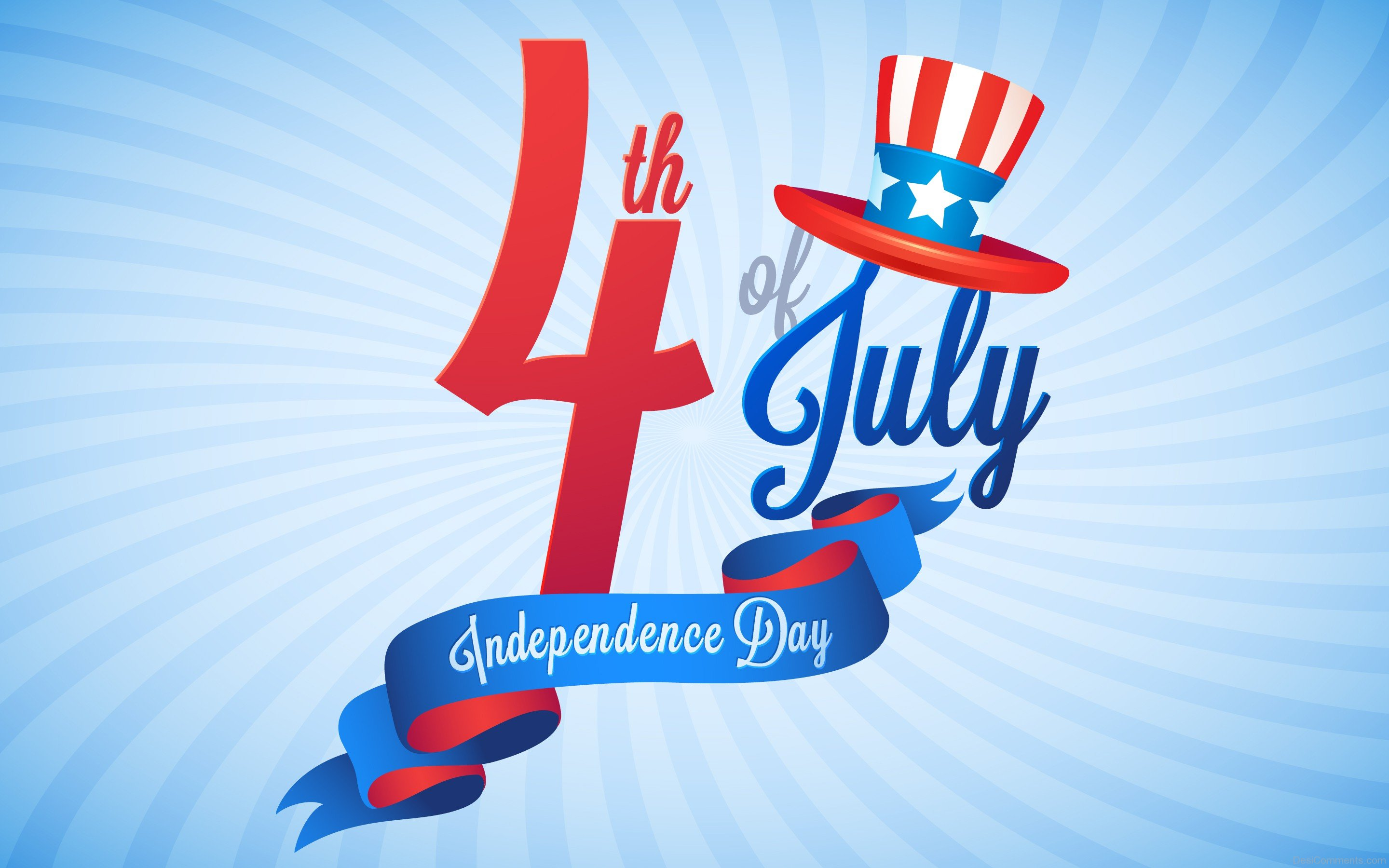 4th July Independence day Anniversary