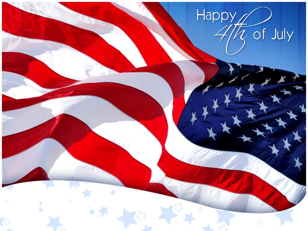 4th July Independence day Clipart With Quotes