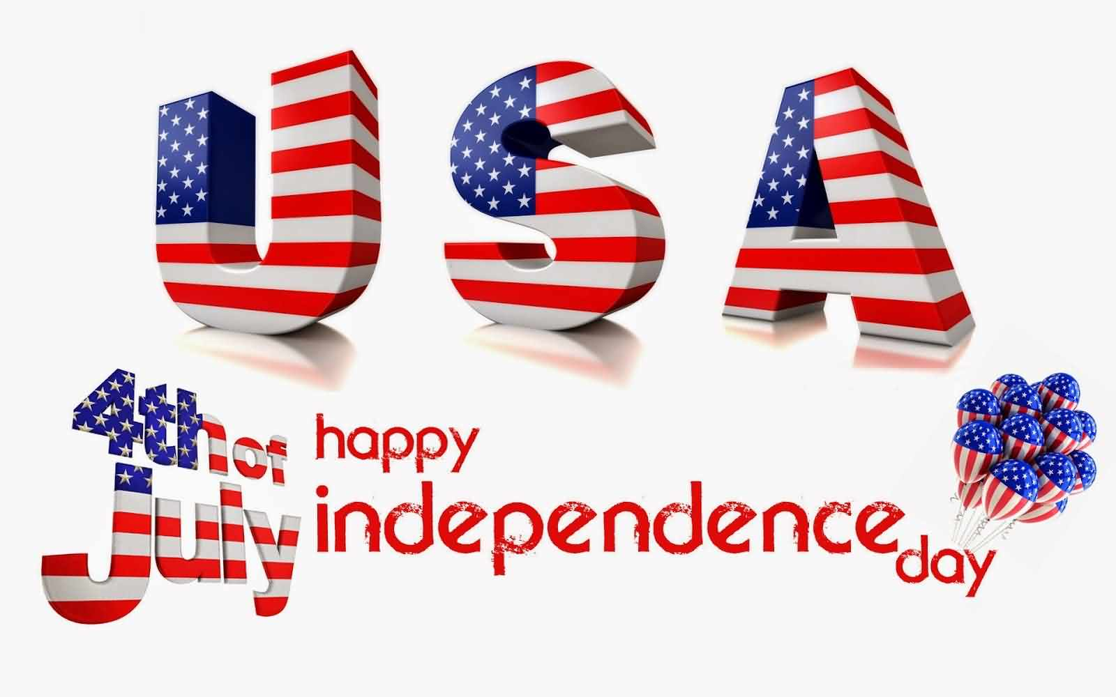 4th July Wishes God Bless You America