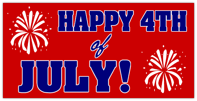 4th Of July Banner Image Download