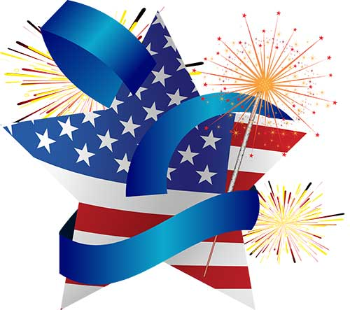 4th Of July Vector Picture