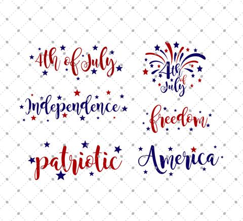 4th Of July Words Free